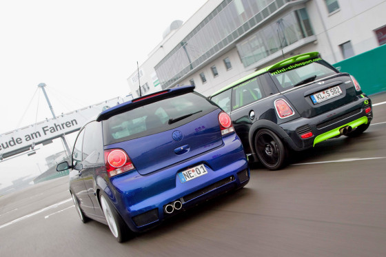 Schäfer Cooper S Clubsport BTS Polo GTI Cup Edition