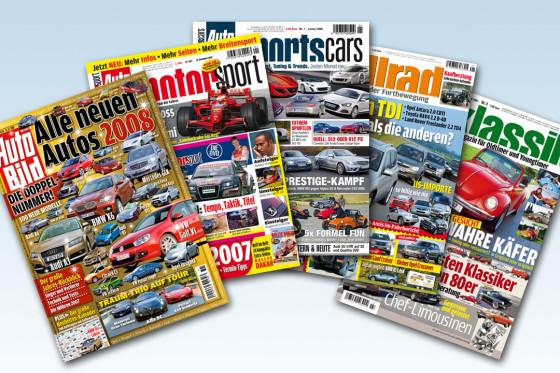 Die Marke AUTO BILD ist in allen automobilen Segmenten mit eigenen Titeln vertreten.
