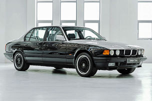 Scharfe BMW-Zwölfzylinder