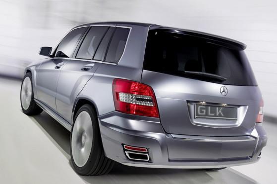 Mercedes verspricht, dem GLK hohen Fahrkomfort und Agilität einzuimpfen.
