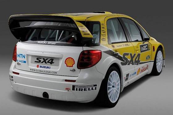 Suzuki SX4 WRC 2008