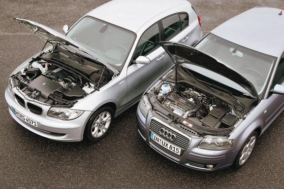 BMW 116i gegen Audi A3 Sportback 1.4 TFSI