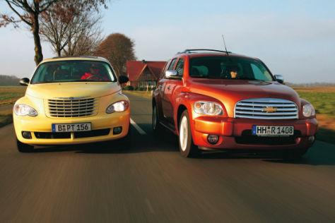 Chevrolet Hhr Und Chrysler Pt Cruiser Im Vergleich Autobild De