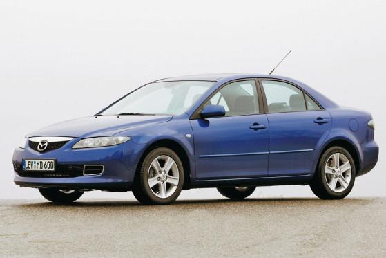 Sieht unauffällig aus und verhält sich auch so: So kam 2002 der Mazda6.