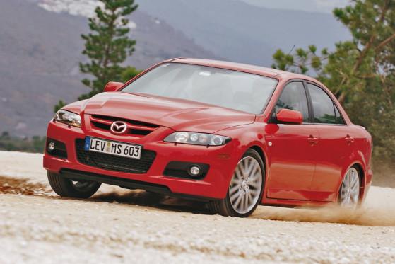 Starkes Herz: Der Mazda6 MPS hat die Kraft der 260 Pferde.
