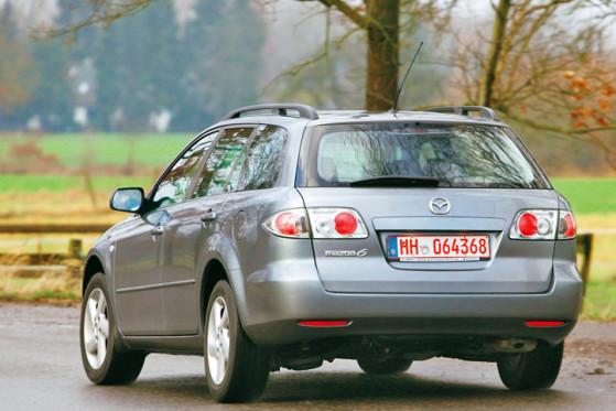Wenn überhaupt mal ein Mazda6 liegenbleibt, handelt es sich meistens um einen mit Common-Rail-Dieselmotor.