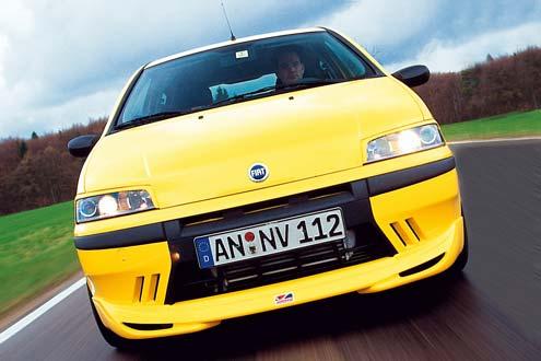 Fiat Punto T-pro von Autotest