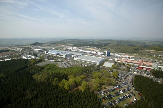 Luftbild Nürburgring