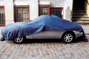 Winterpause für das Auto
