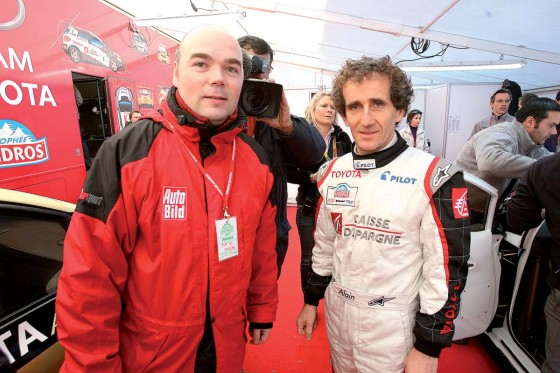 Guido Naumann, Alain Prost