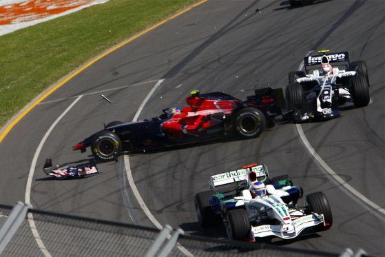 Formel 1, Australien 2008, Ausfall von Sebastian Vettel