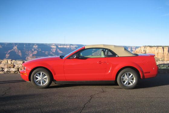 Ford Mustang Cabrio Grand Canyon Arizona