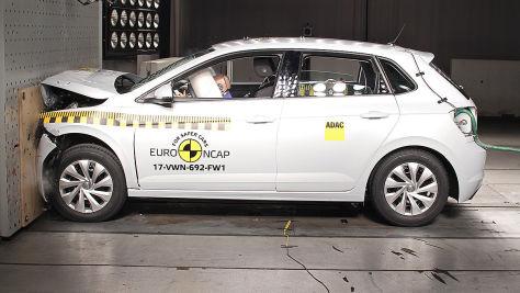 VW Polo: Euro NCAP-Crashtest 2017