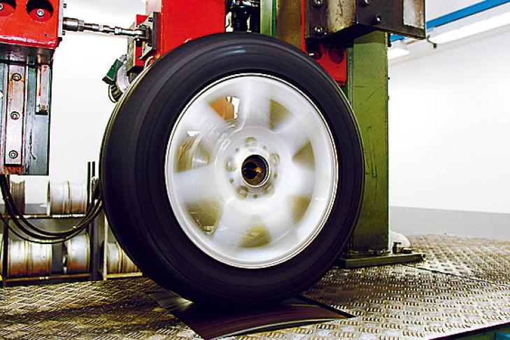 Reifentest 215/45 R 17