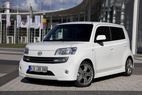 Daihatsu Materia Sondermodell White X