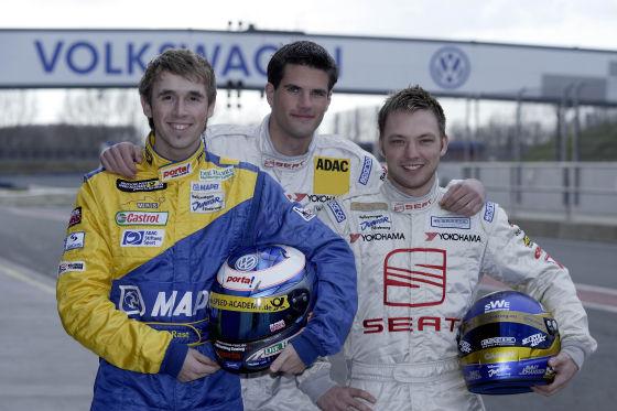 Auch 2008 gehen die erfolgreichen Piloten des Vorjahres: René Rast, Jimmy Johansson und Constantin Dressler wieder ins 24-Stunden-Rennen auf dem Ring.