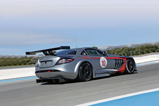 Mercedes SLR McLaren 772 GT