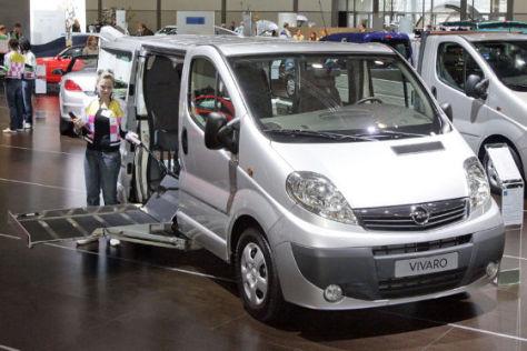 Opel Vivaro rollstuhltauglich