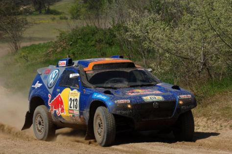 Rallye Dakar Serie 2008, Dieter Depping , VW Race Touareg, 1. Etappe
