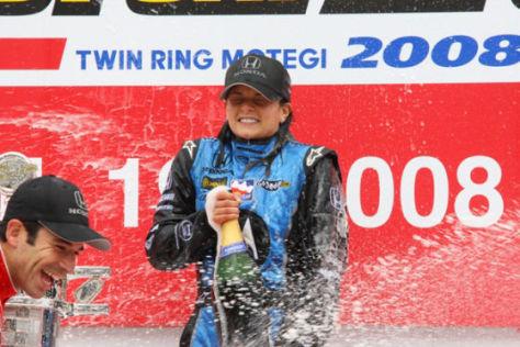 IndyCar 2008, Motegi, Danica Patrick