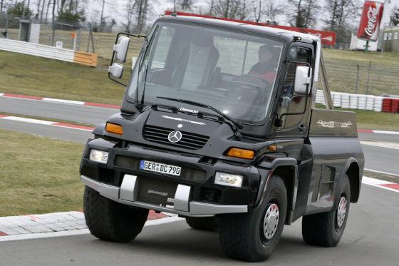 Unimog U 500/Brabus Smart