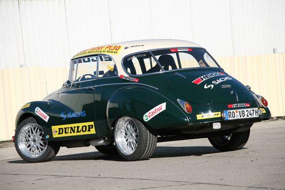DKW 1000S von hinten