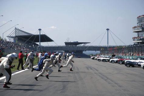 Le Mans-Start beim Old Grand Prix auf dem Nürburgring