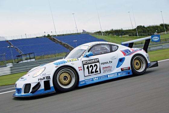 Porsche Cayman RS Seitenansicht