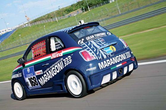 Engstler Fiat 500, 24-Stunden-Rennen Nürburgring 2008