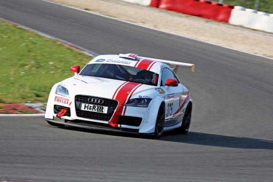 van Ommen Audi TT, 24-Stunden-Rennen Nürburgring 2008