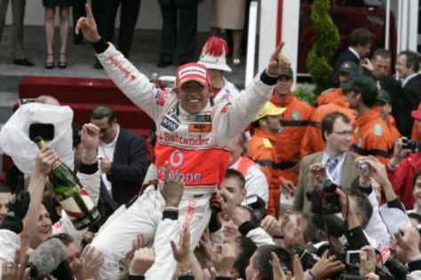 Formel 1, Monte Carlo 2008, Lewis Hamilton McLaren Mercedes