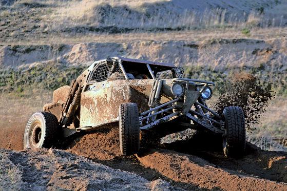 640 PS, keine Windschutzscheibe: Ein Class-1-Buggy könnte aus einem Mad-Max-Film stammen.