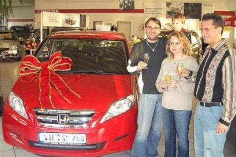 Gewinnspiel Honda FR-V