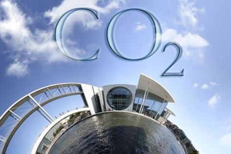 CO2-Montage