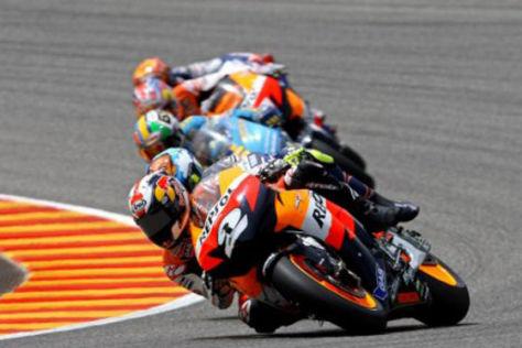 MotoGP 2008, GP von Katalonien, Pedrosa in Front