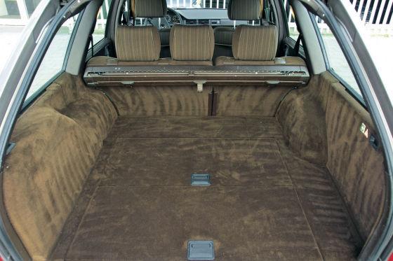 Innenraum Mercedes-Benz 200 TE