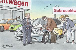 Garantien für Gebrauchte