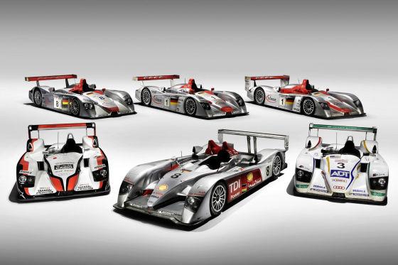 Le Mans, Die Galerie der Audi-Sieger