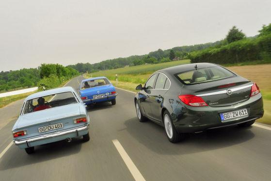 Opel Insignia Rekord C Rekord D