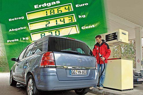 Opel Zafira 1.6 CNG Edition
