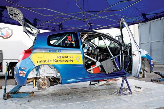 So preiswert war Rallye-Sport selten. Ein einsatzfertiger Drifter für 85 000 Euro .