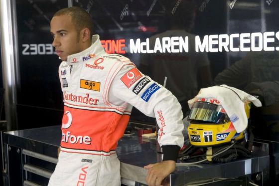 Formel 1 2008 Lewis Hamilton