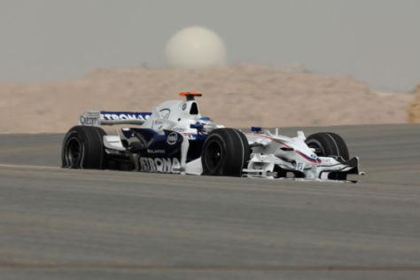 BMW Sauber Formel 1 Rennwagen