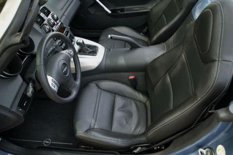 Ledersitze im Opel GT