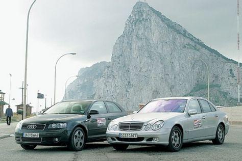 mercedes e-klasse automobil tests-härtetest - autobild.de