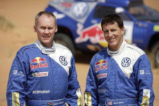 Mark Miller (r.) und Ralph Pitchford
