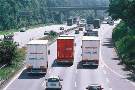 Mehr Überholverbote auf Autobahnen geplant