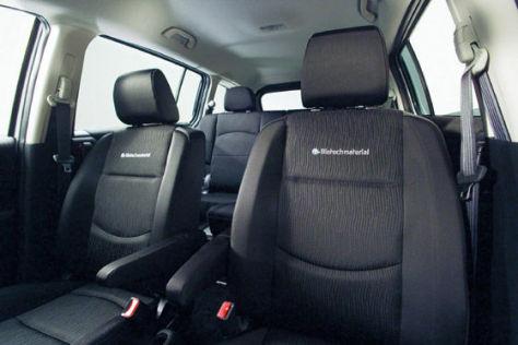 Mazda-Sitz aus Biokunststoff