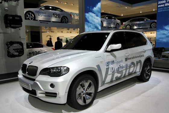"""Sparen mit """"Efficient Dynamics"""": Im ersten Quartal wurde der CO2-Ausstoß der BMW-Flotte von 187 auf 158 g/km gesenkt."""