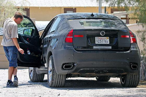 Erlkönig BMW X6 Hybrid